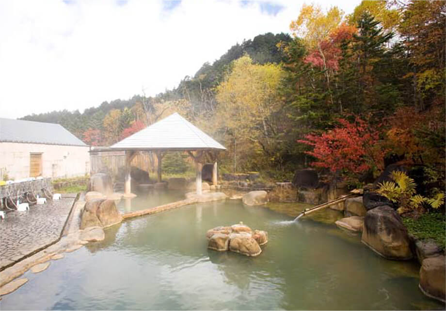 Town-operated Outdoor Bath Facility