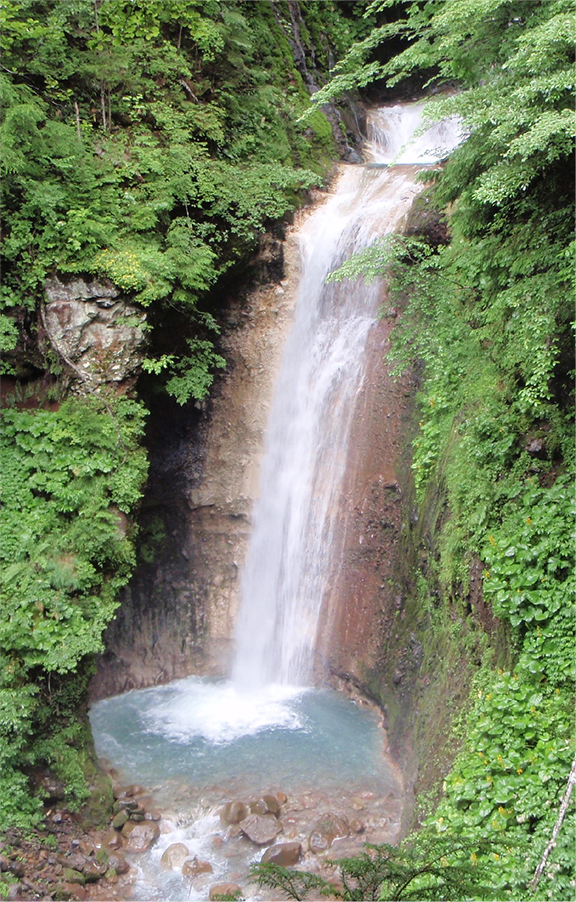 Hinotaki Waterfall