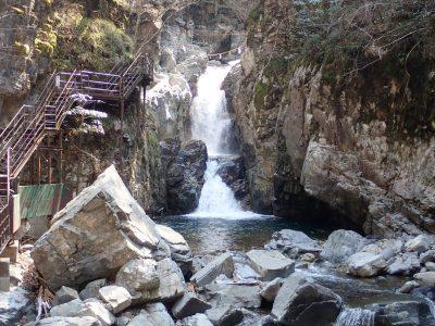 小坂の滝めぐり・がんだて公園オープン